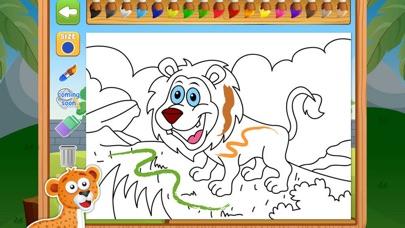 القرد السعيد - العاب رسم تلوين العاب ذكاءلقطة شاشة4