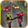 Highway Stunt Bike Attack Racer