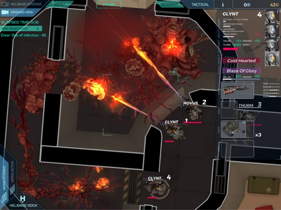 STRAIN TACTICS iOS Screenshots