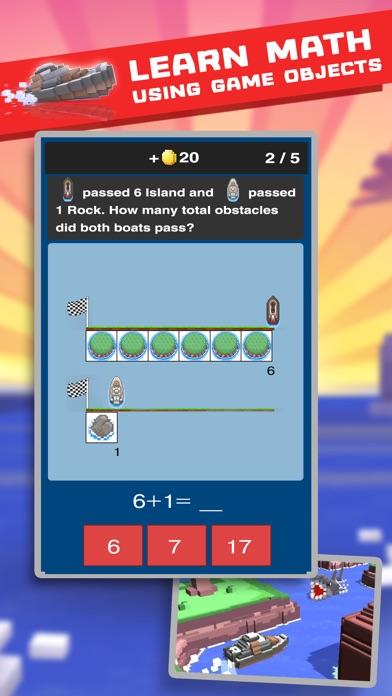 Smart Boats: Fun maths game for kids Screenshot 1