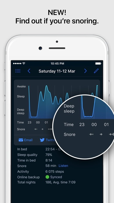 Sleep Cycle alarm clock iPhone