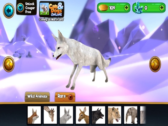 Screenshots of My Wild Pet Online Cute Animal Rescue Simulator for iPad