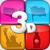 Geographie Quiz Spiel 3D