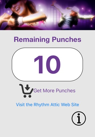 Rhythm Attic Punch Card screenshot 1