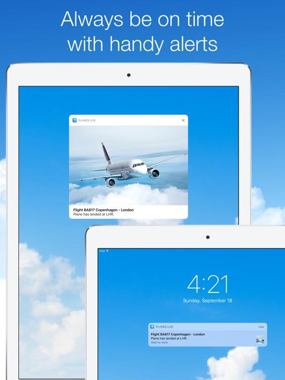Screenshot #5 for Planes Live - Flight Status Tracker and Radar