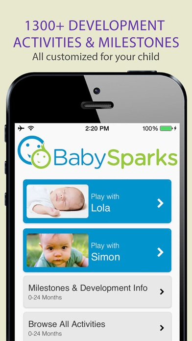download BabySparks - Development App appstore review