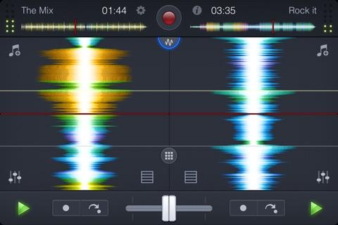 djay 2 for iPhone screenshot 3