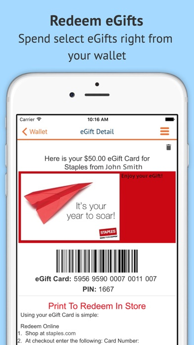 Buy Personalized Gift Cards on the App Store