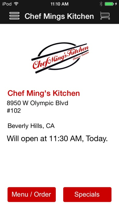 Chef Ming's Kitchen (Food & Drink