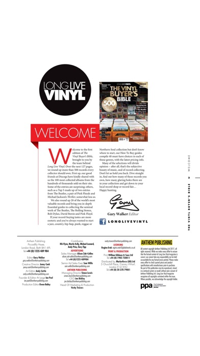 Long Live Vinyl review screenshots