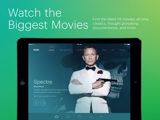Hulu: Watch TV Shows & Movies iPad