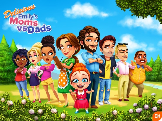 Игра Delicious - Moms vs Dads