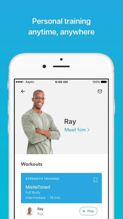 download Aaptiv: #1 Audio Fitness App appstore review
