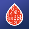 Glucose Buddy+ for Diabetes Icon