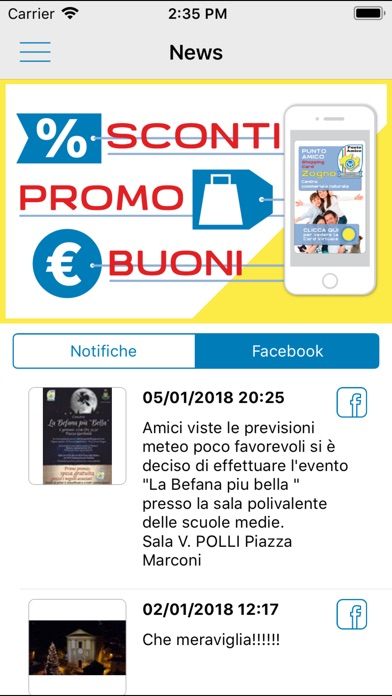 Screenshot for Punto Amico in United States App Store