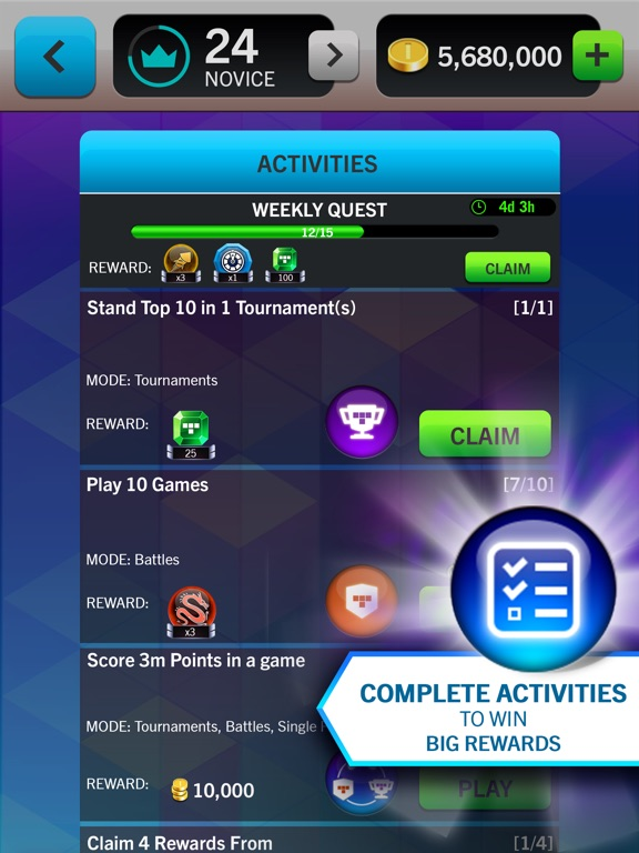 Screenshot #3 for Tetris® Blitz