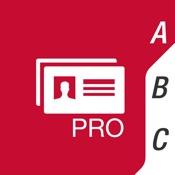 ≡ Business Card Scanner Pro