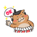 Stickers CatHeroSumo Animated