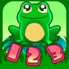 Learn numbers by counting frogs