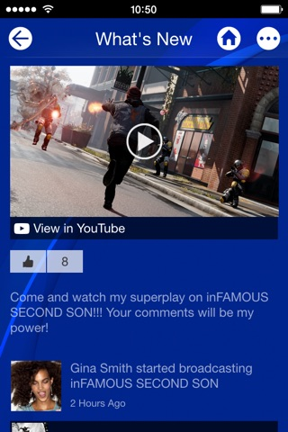 PlayStation App screenshot 2