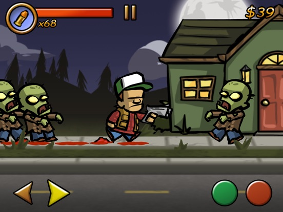 Screenshots of Zombieville USA for iPad
