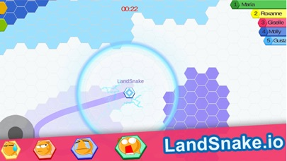 Screenshot 3 Land Snake.io