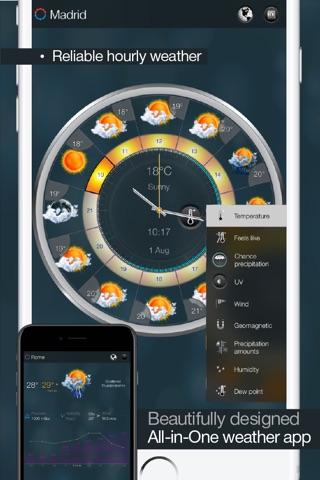 eWeather HD - Weather & Alerts screenshot 2