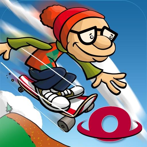 Skater Dave - Downhill Skating iOS App
