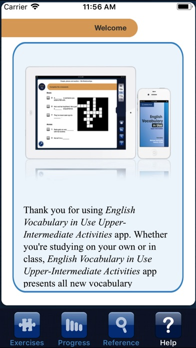 Vocabulary in Use Upper Int Screenshots