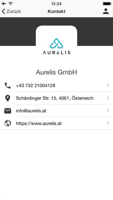 Screenshot von Aurelis GmbH5