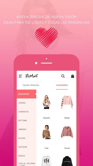 download ROMWE - Moda de Mujeres apps 4