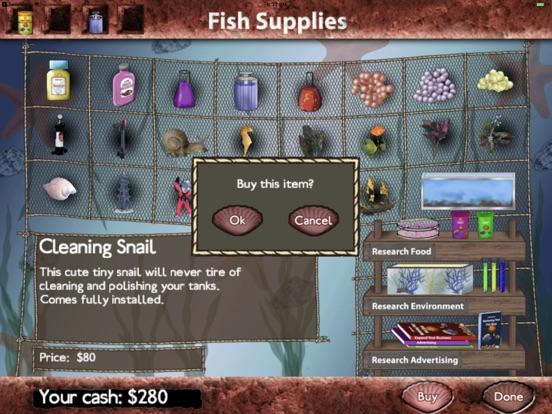 Screenshots of Fish Tycoon for iPad