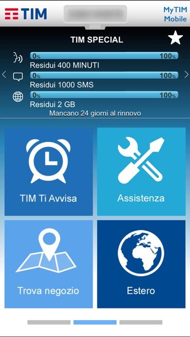 MyTIM Mobile Screenshot