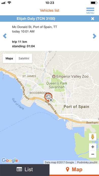 Screenshot for 800-4GPS in United States App Store