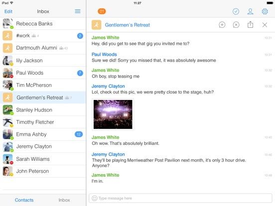 IM+ Pro for Facebook, Telegram Screenshots