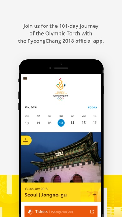 PyeongChang 2018 Official App screenshot 2