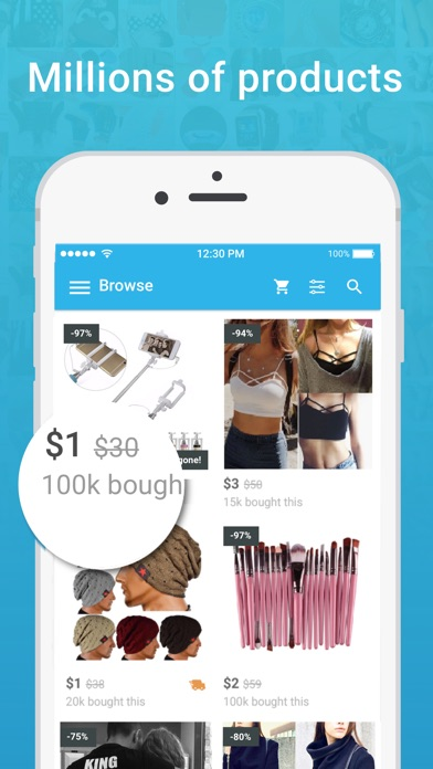 Image of Wish - Shopping Made Fun for iPhone
