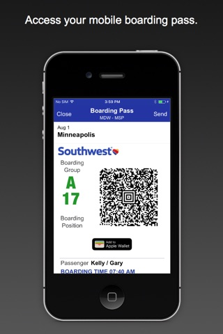 Southwest Airlines screenshot 3