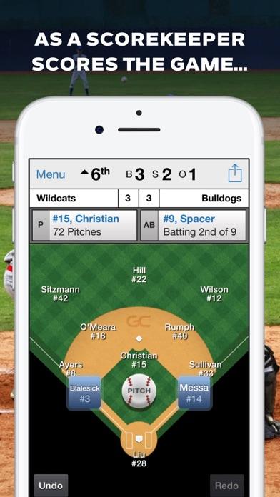 GameChanger Baseball Softball Скриншоты3