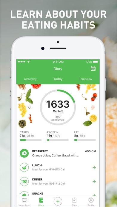 Runtastic Balance Food... Screenshot