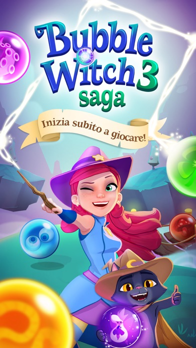 Screenshot of Bubble Witch 3 Saga5