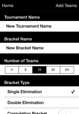Bracket Maker Pro screenshot 2