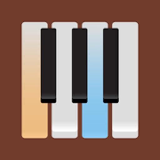 グランド・ピアノ フルサイズのキ (Grand Piano)
