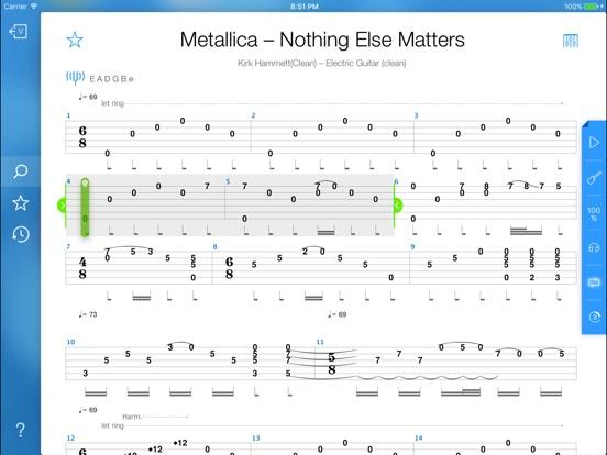 Songsterr Tabs Chords App Voor Iphone Ipad En Ipod Touch