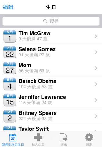 Birthday Reminder Pro+ screenshot 2