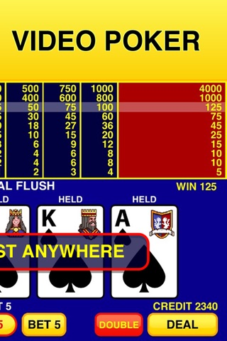 Video Poker Classic - 39 Games screenshot 2