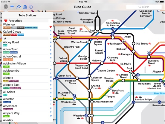 London Tube Map and Guide Скриншоты9