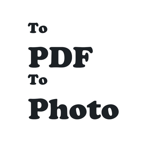 Web To Pdf File & To Photo iOS App