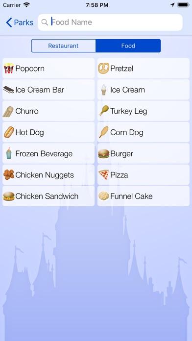 Dining for Disney World screenshot1
