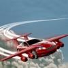 空飛ぶ車 - モダンなレース